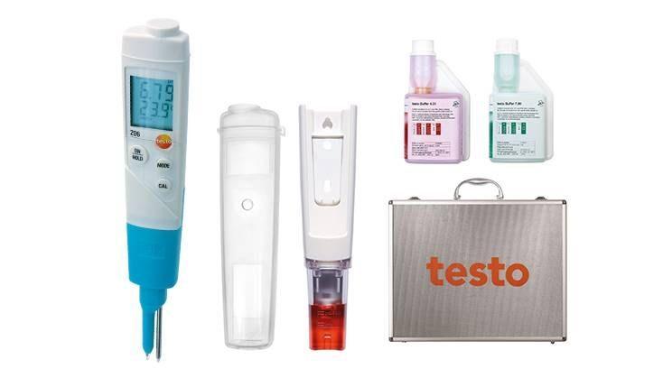 Testo 206-pH2 Starter-Set 0563.2066