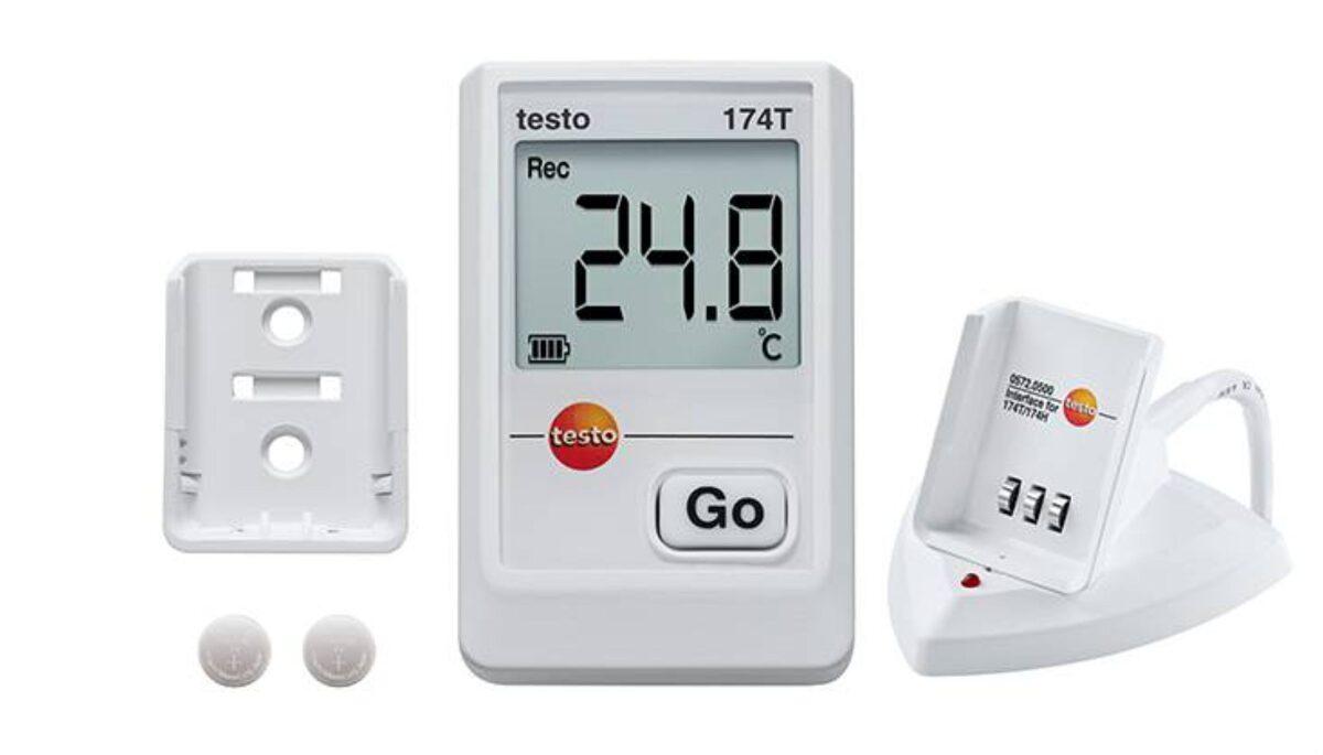 0572 1560 testo 174T temperatūras ar nolasītāju