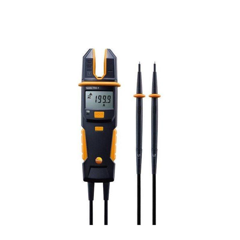Testo 755-1 (0590 7551) sprieguma/strāvas testeris