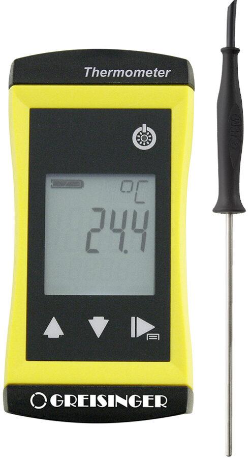 Greisinger G 1720 ieduramais termometrs ar ieduramu sensoru vadā Ø3 mm
