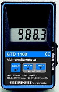 Greisinger GTD 1100 Barometrs
