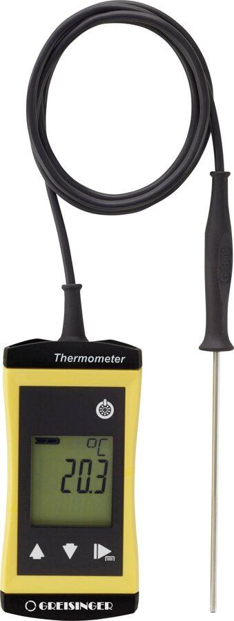 Greisinger G 1710 ieduramais termometrs ar sensoru vadā