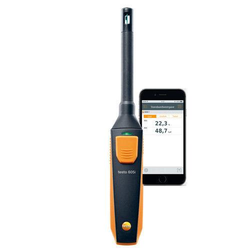 Testo 605i higrotermometrs (0560 1605)
