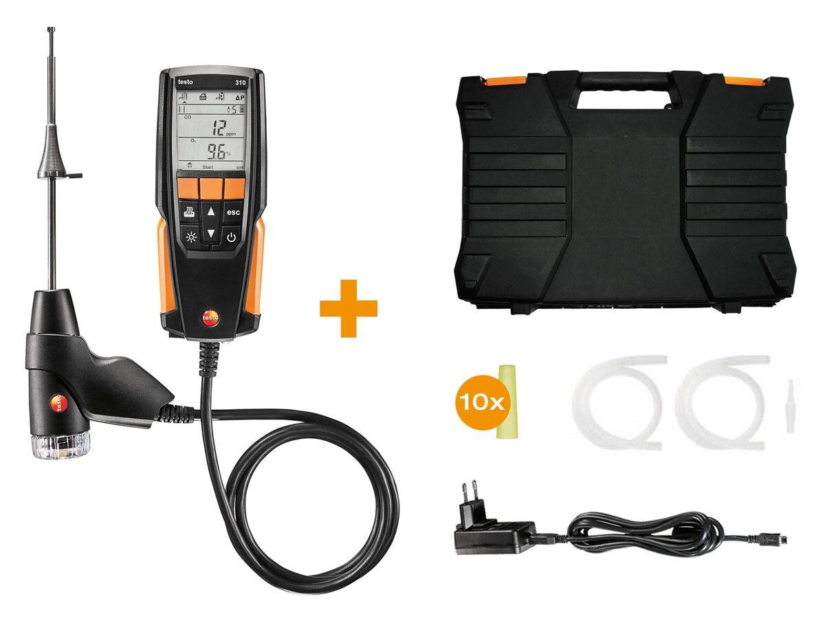Testo 310 Dūmgāzu analizators  (0563 3100 un 0563 3110)