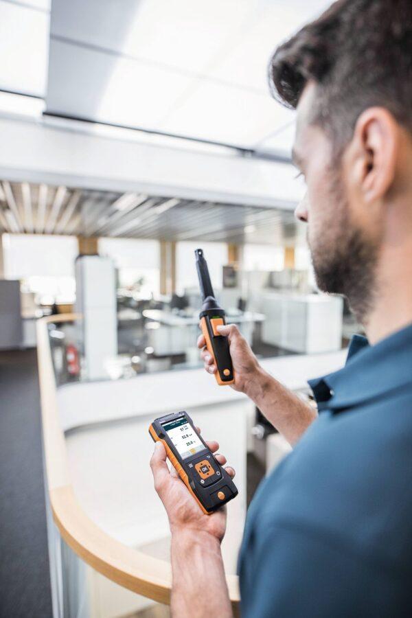 testo 440 CO₂ komplekts ar Bluetooth® CO2 mērītājs