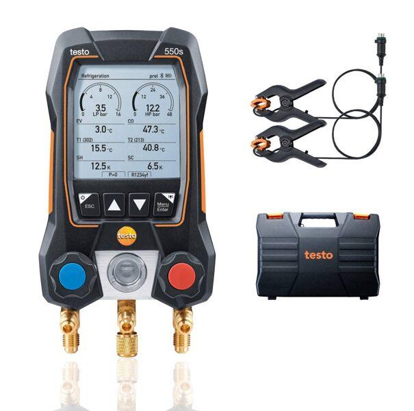 Testo 550s Bluetooth manifolda pamata komplekts 0564 5501