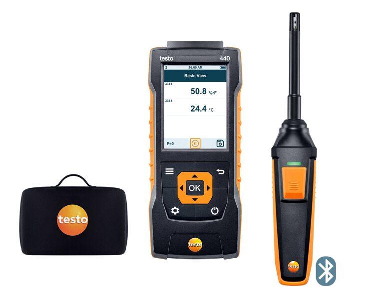 testo 440 Humidity Kit ar Bluetooth® 0563 4404