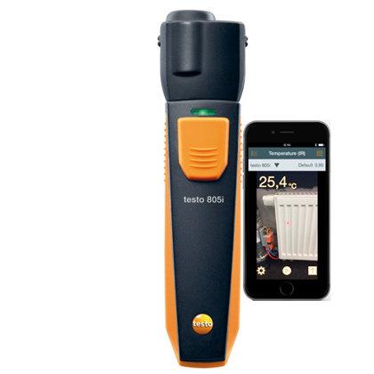 Testo 805i infrasarkanais termometrs (0560 1805)
